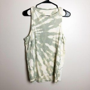 Lululemon Tie Dye High Neck Tank Top